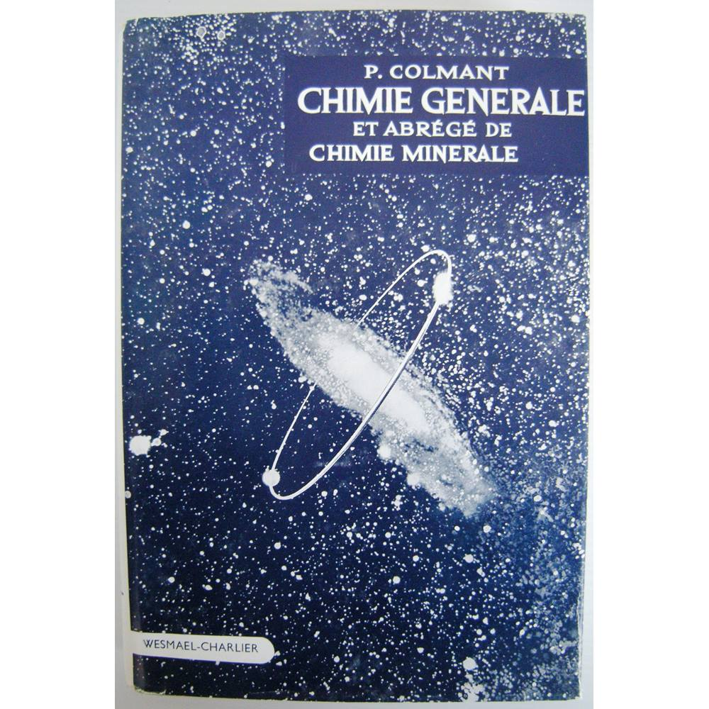 Preview of the first image of Chimie Generale et Abrege de Chimie Minerale.