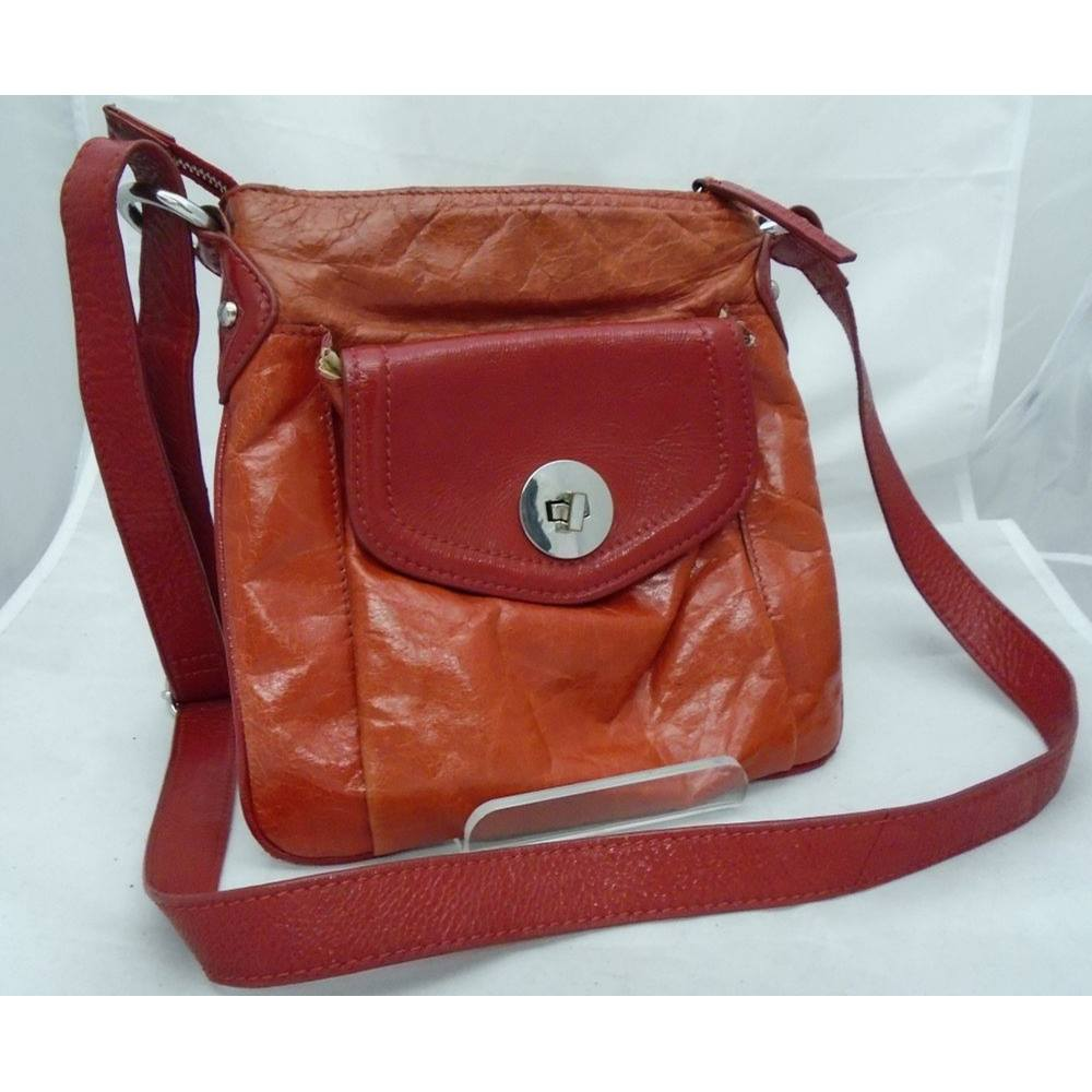 971e9bdc85e Marks and Spencer (Autograph) - Tomato Red - Leather - Small Cross Body Bag