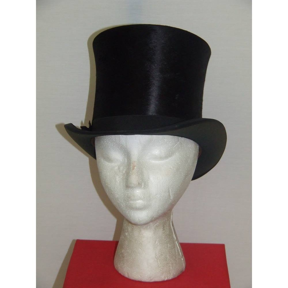 e0b4399f2c9 Vintage   Antique Christy s London Boxed Top Hat Christys - Size  One size   regular. Loading zoom