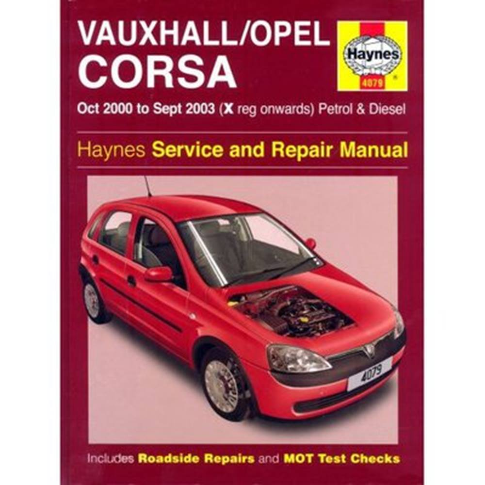 Haynes Vaxhuall / Opel Corsa Service and Repair Manual Oct 2000 to Sep 2003  For Sale in Ludlow, London | Preloved