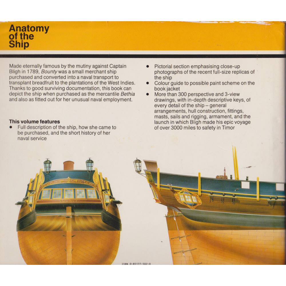 The Armed Transport Bounty Anatomy Of The Ship Oxfam Gb