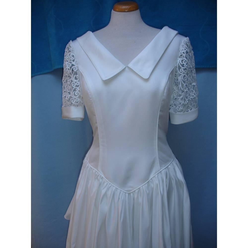 Nuptialement Votre Ivory Wedding Dress Size 14 | Oxfam GB | Oxfam\'s ...