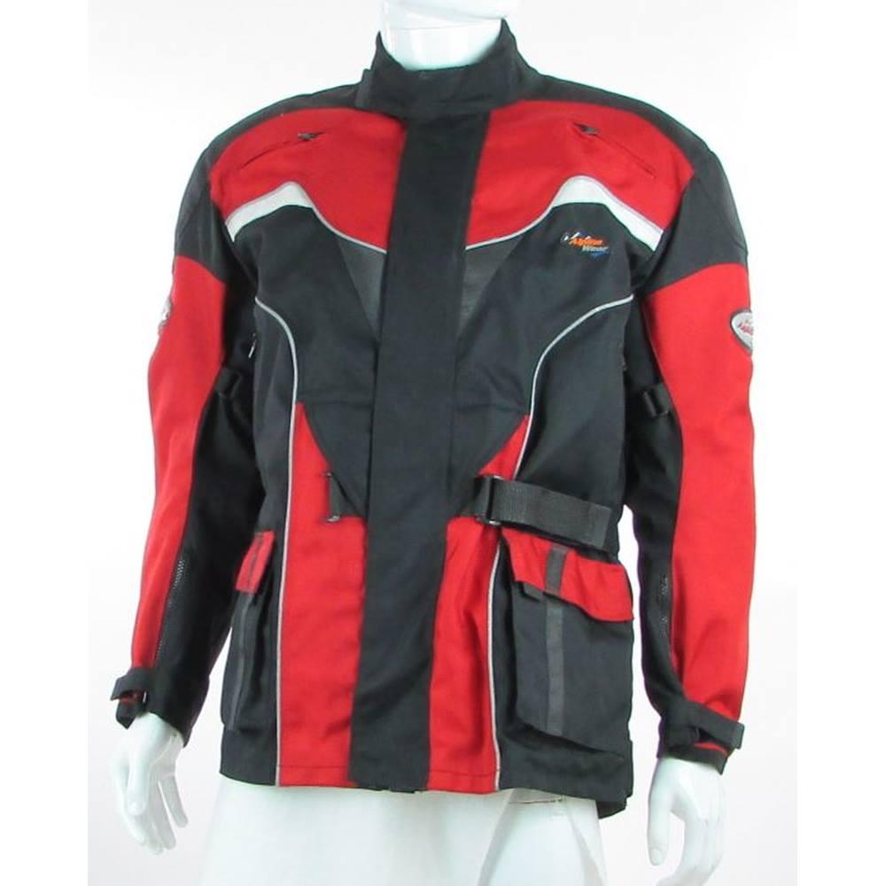 Alpinestars Motorcycle Jacket >> Alpine Wear Size M Black Red Motorcycle Jacket Oxfam Gb