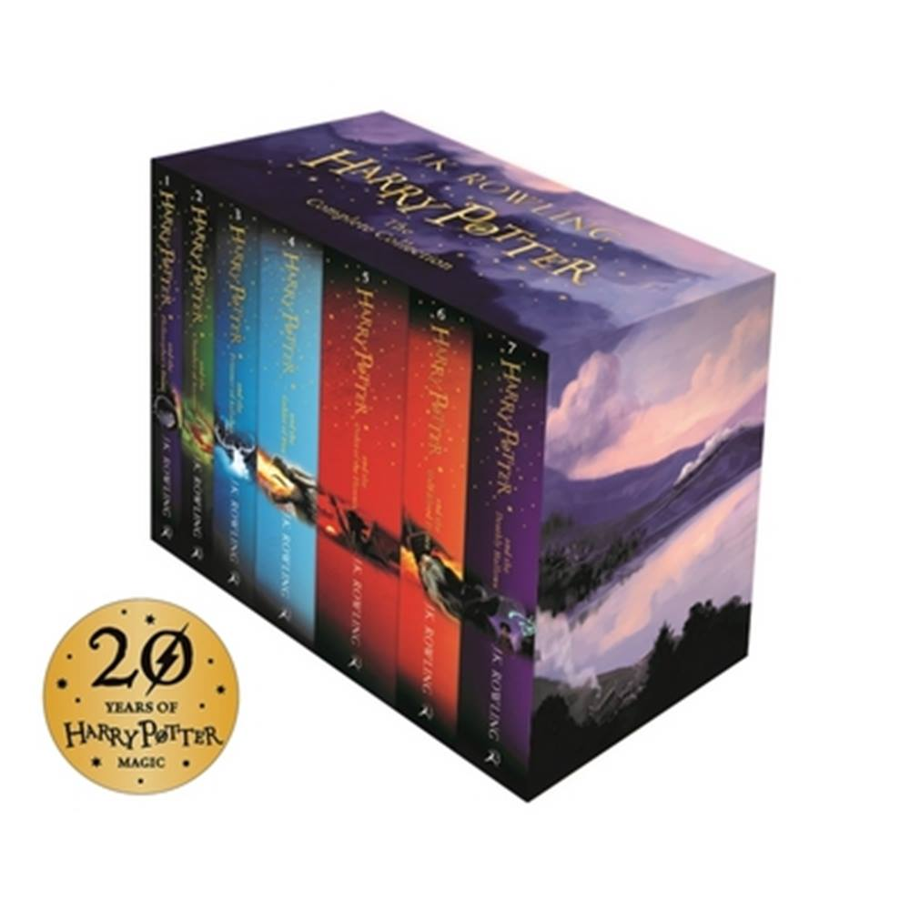 Harry Potter Box Set The Complete Collection Childrens Paperback