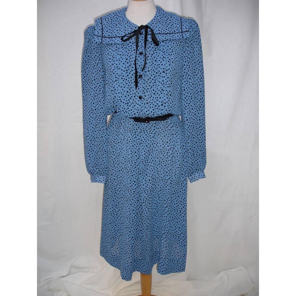 Vintage Liza Peta Sailor Collar Dress | Oxfam GB | Oxfam\'s Online Shop