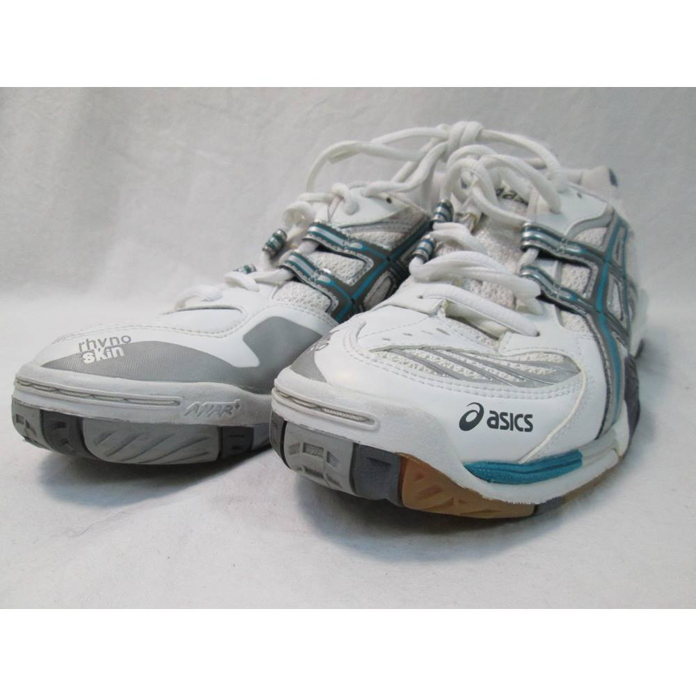 3994dcc85043 Asics Gel Blade 2 Sports Shoes - Size  6 - White - Trainers