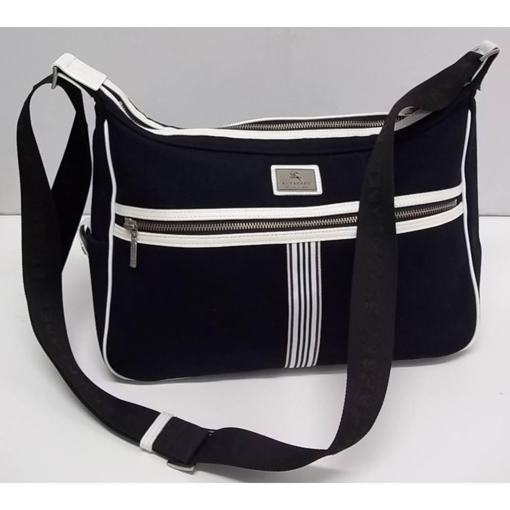 c86616967054 Burberry - Navy Blue and White - Cross body BAG