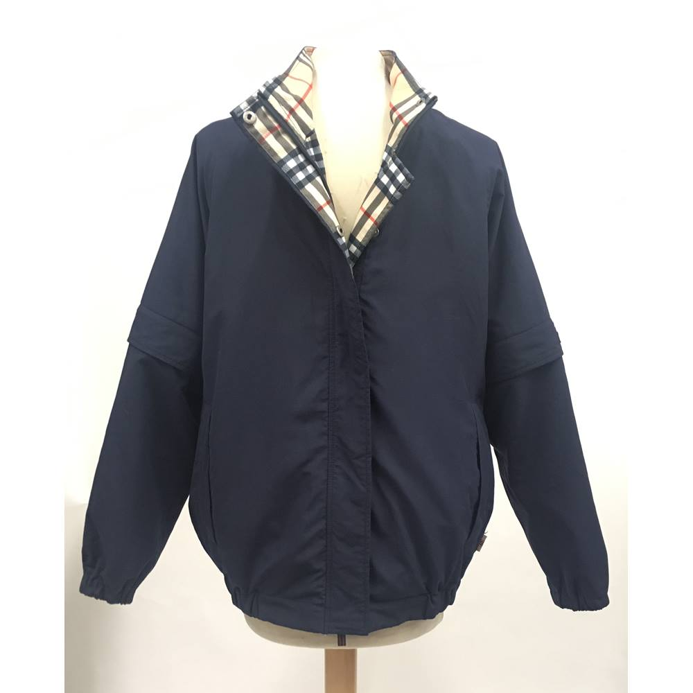 cacdae205bc61 Burberry - Size  S - Blue - Golf Jacket