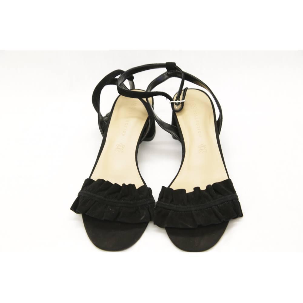 36c2534f8edbfa M S Marks   Spencer - Size  6.5 - Black - Sandals. Loading zoom