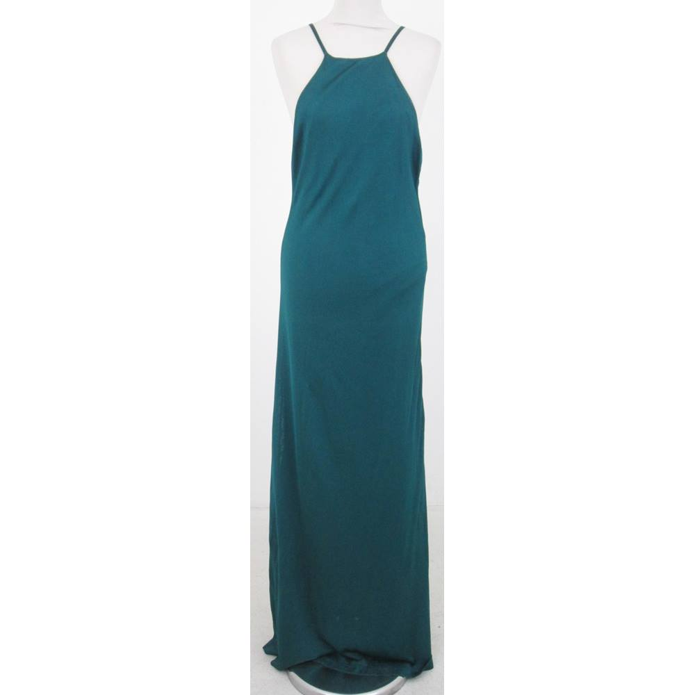 e9821cf6 BNWT Zara - Size: L - Green knitted full length dress For Sale in Milton  Keynes, London | Preloved