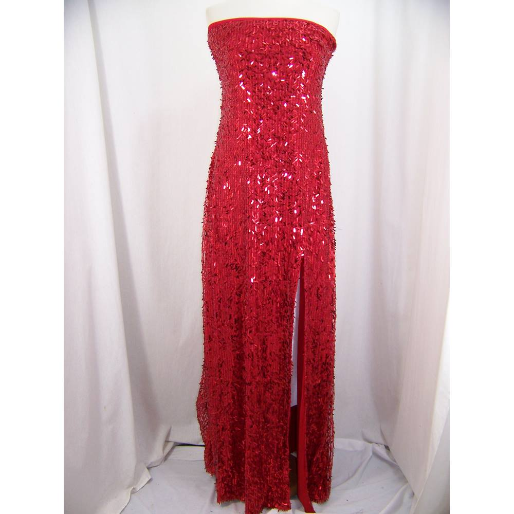 KDK London - New, Size: 14 - Red - Strapless