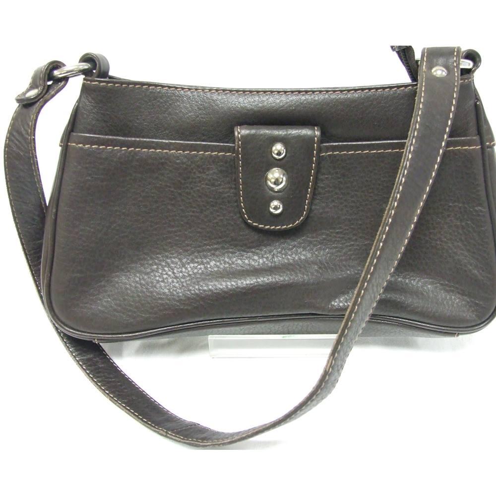 Women s Jane Shilton Brown Leather Handbag Jane Shilton - Size  Not  specified - Brown. Loading zoom 7803e56510cc9