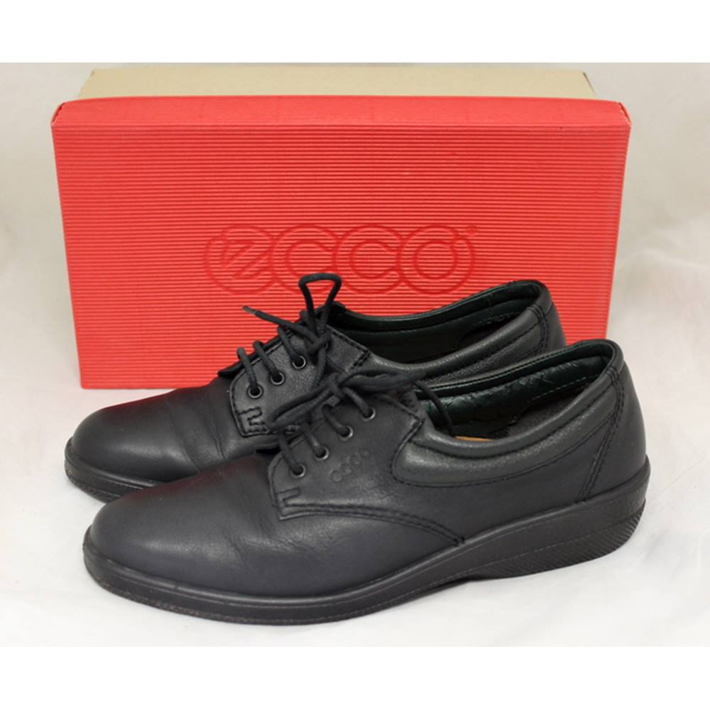 e5d8feabe1a7 Ecco - Relax - Size  6 - Black - Lace-up shoes. Loading zoom
