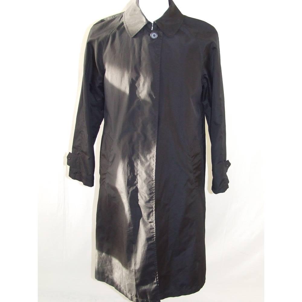ebdcade6349 DKNY Black Ladies Trench Coat DKNY - Size  S - Black - Raincoat ...