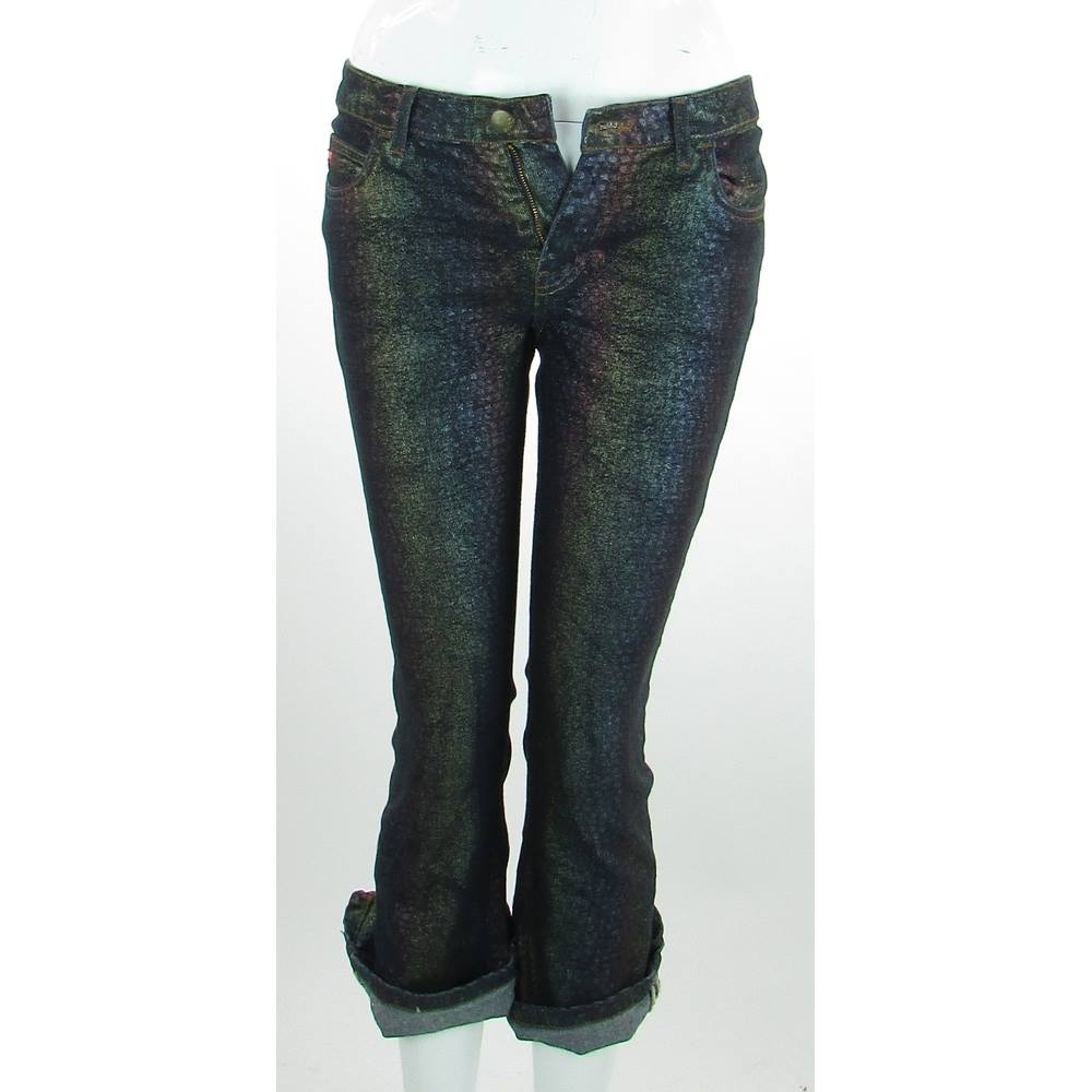 Miss sixty size 10 metallics cropped jeans oxfam gb miss sixty size 10 metallics cropped jeans loading zoom publicscrutiny Image collections