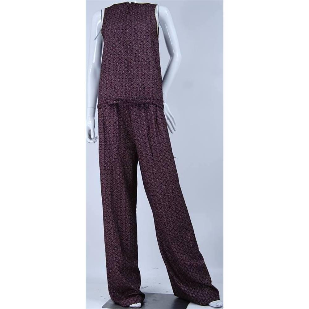 67d90f0b2645 BNWT - Laura Clement for La Redoute - Size  10 - Brown - Jumpsuit ...