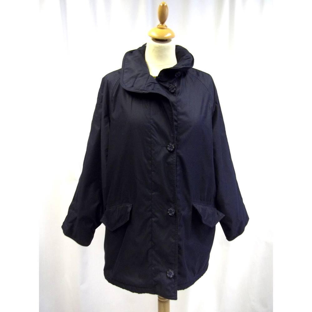 Mat De Misaine Size M Black Short Coat Oxfam Gb Oxfams With Hood Loading Zoom