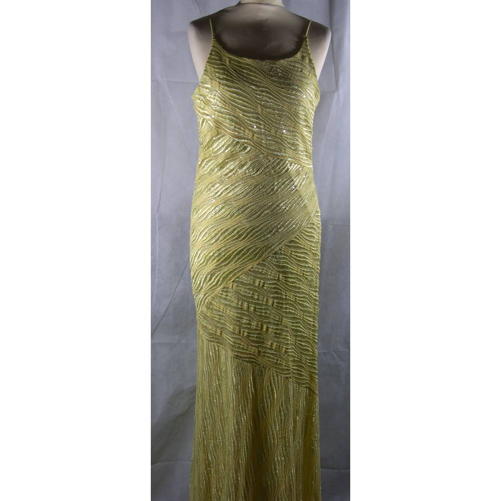 Joseph Ribkoff - Size: 12 - Green - Evening dress | Oxfam GB ...