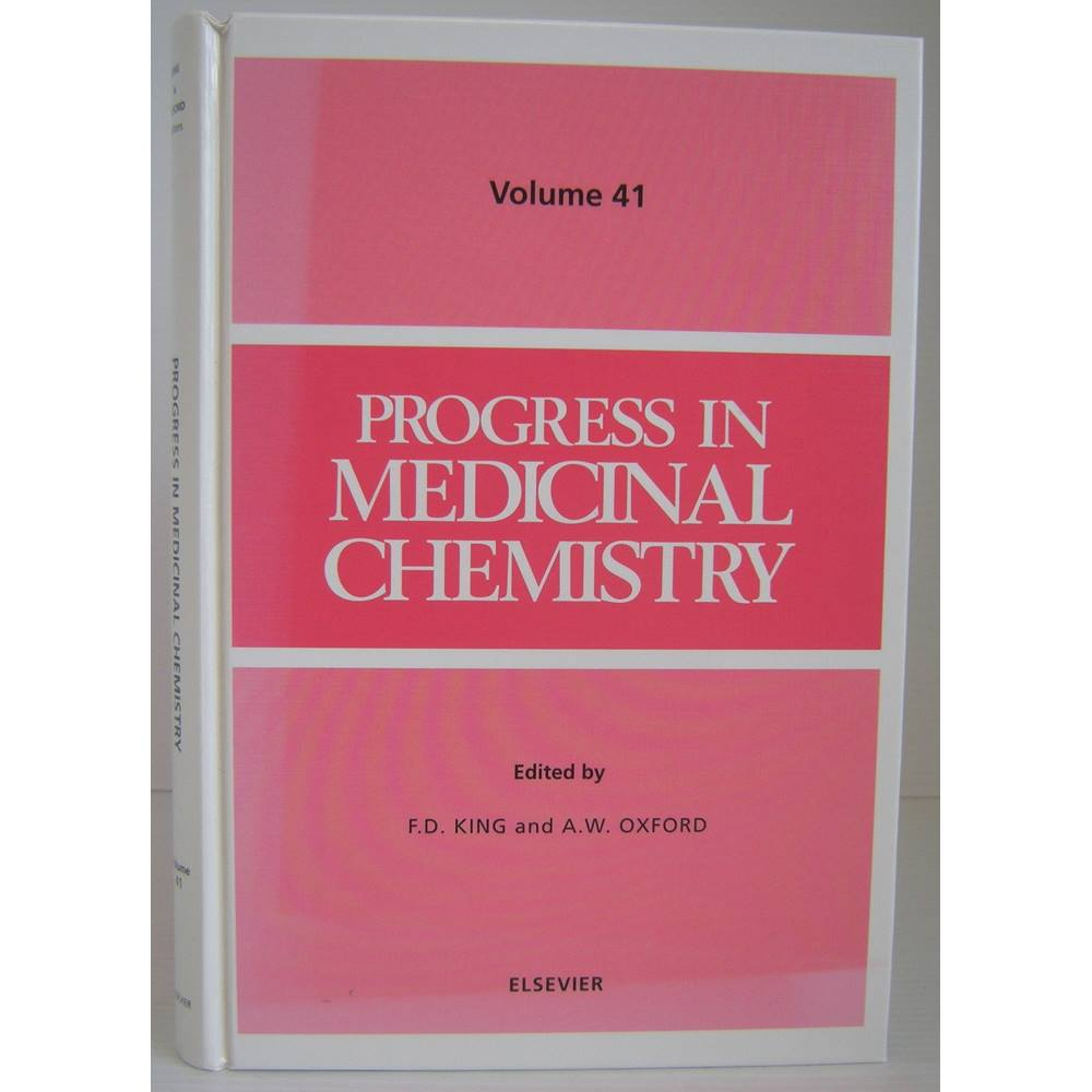 Preview of the first image of Progress in Medicinal Chemistry Volume 41.