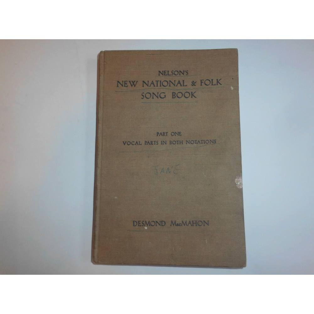 Nelson's New National & Folk Song Book Part One | Oxfam GB | Oxfam's Online  Shop