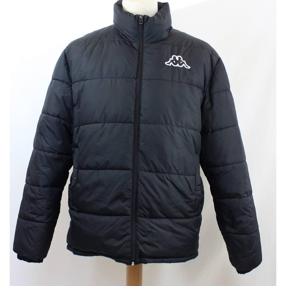 9ffa76dbd Kappa - Size: M - Black - Puffer jacket   Oxfam GB   Oxfam's Online Shop