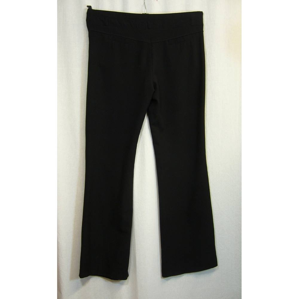 1a1a23748b499 Red Herring Maternity - Size 8 - Black maternity trousers. Loading zoom.  Rollover to zoom