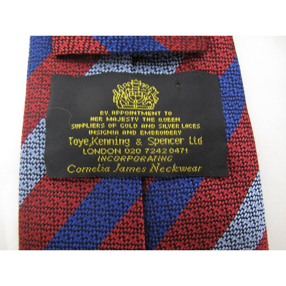 Toye Kenning & Spencer Handmade Silk Tie | Oxfam GB | Oxfam's Online Shop