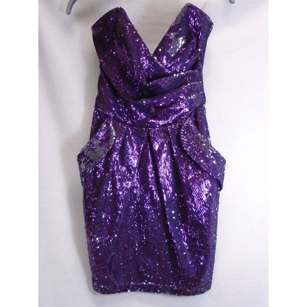 lipsy purple dress - Local Classifieds | Preloved