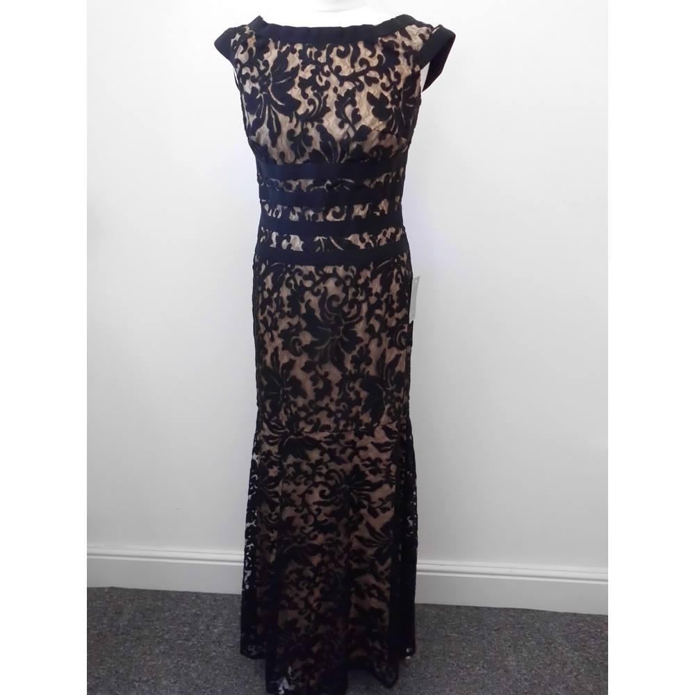 Tadashi Shoji Us Designer Brand New Stunning Black Evening Dress Size S For In St Albans London Preloved