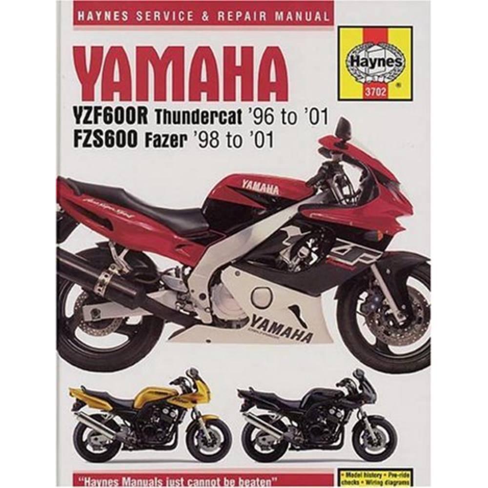 yamaha yzf600r thundercat fzs600 fazer service and repair manual rh oxfam org uk yzf600r owners manual 2003 YZF600R