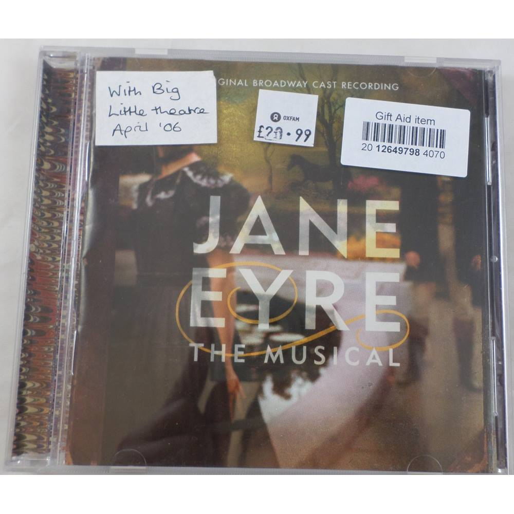 Jane Eyre: The Musical   Oxfam GB   Oxfam's Online Shop