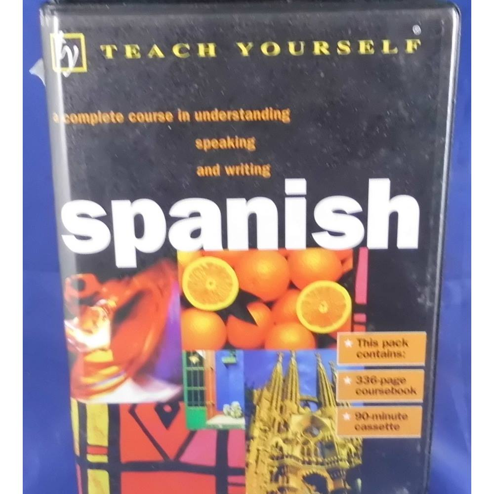 Teach Yourself Spanish: Book/Cassette Pack (TYL) | Oxfam GB | Oxfam's  Online Shop