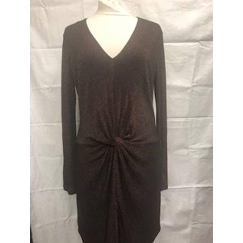 3beb9c5f8 Ted Baker Dress Ted Baker - Size  14 - Metallics - Knee length dress ...