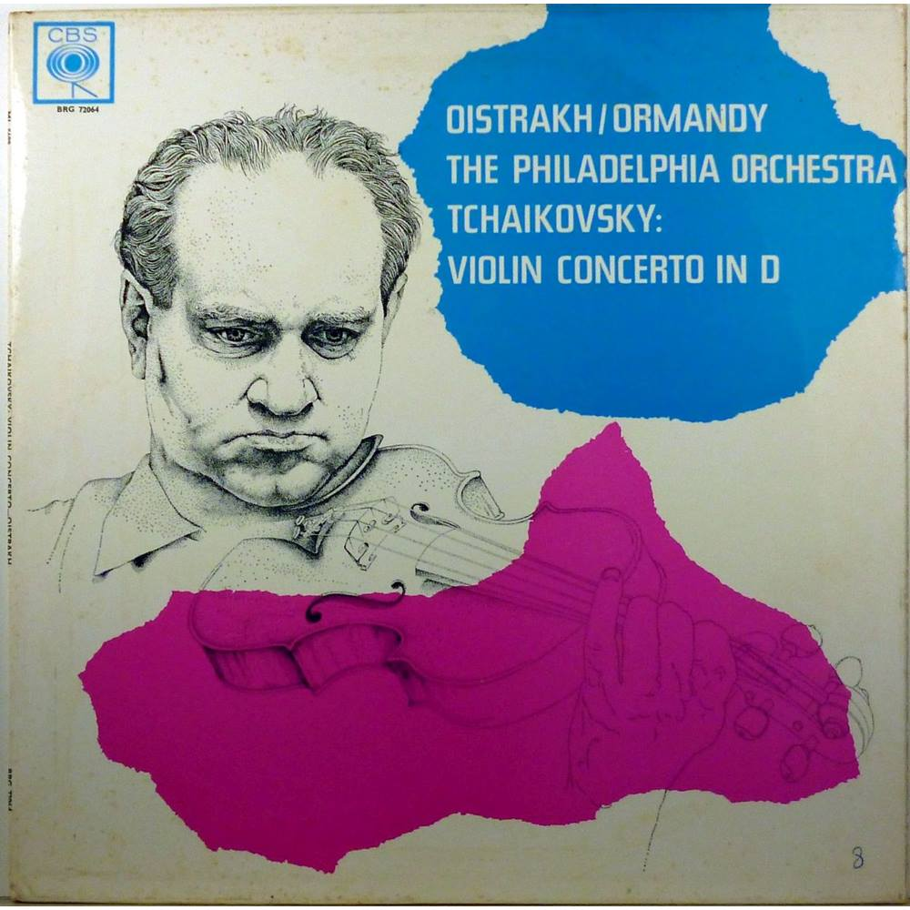 Tchaikovsky - Violin Concerto in D Major - The Philadelphia Orchestra  conducted by Eugene Ormandy, David Oistrakh - BRG 72064 | Oxfam GB |  Oxfam's