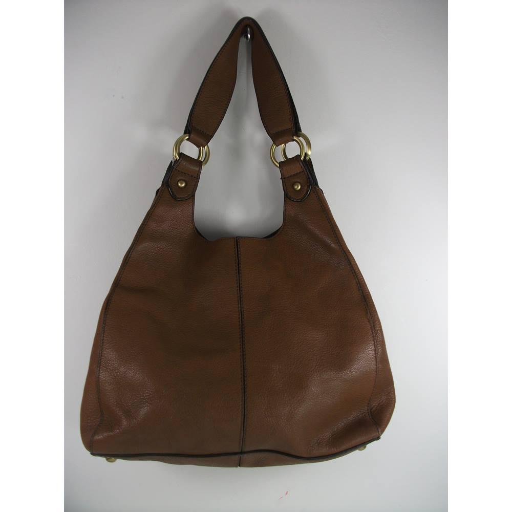 f8414d89f2fe Marks   Spencer Autograph Tan Leather Handbag
