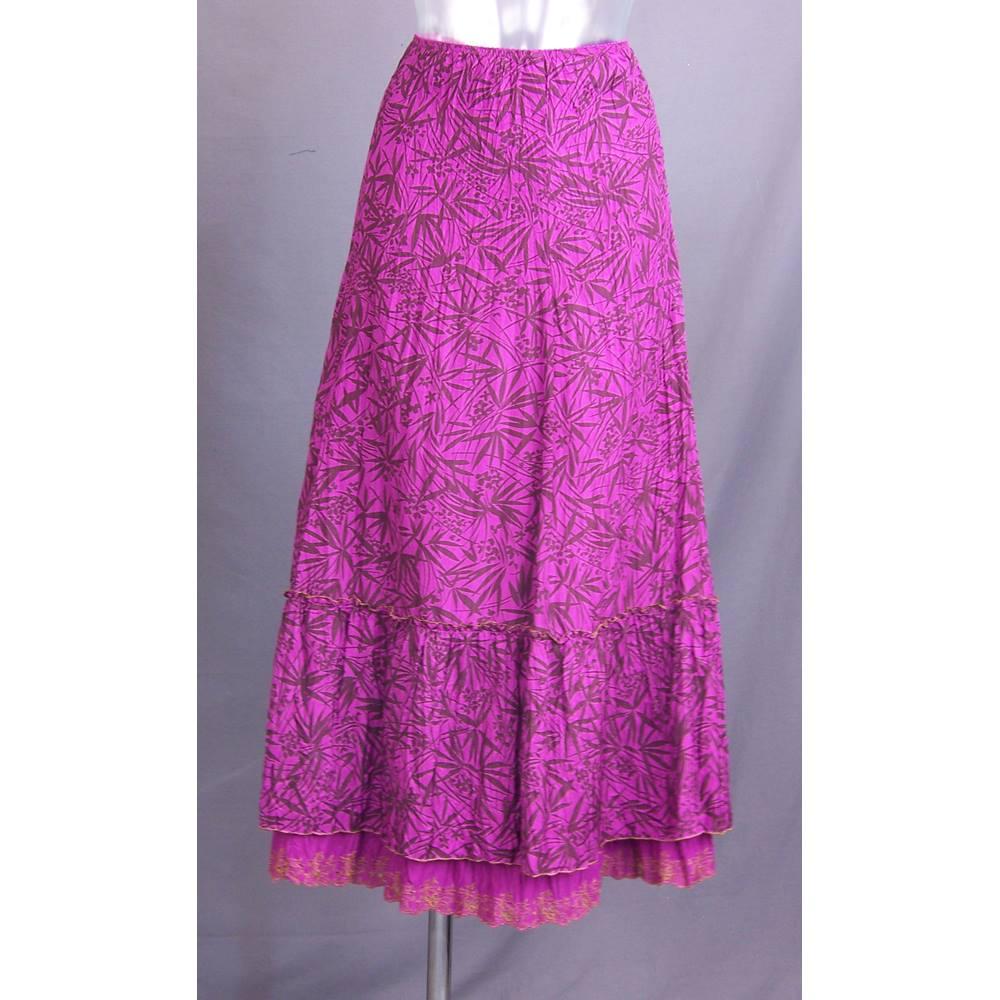 Monsoon - Size: 14 - Purple - Long skirt   Oxfam GB   Oxfam\'s Online ...