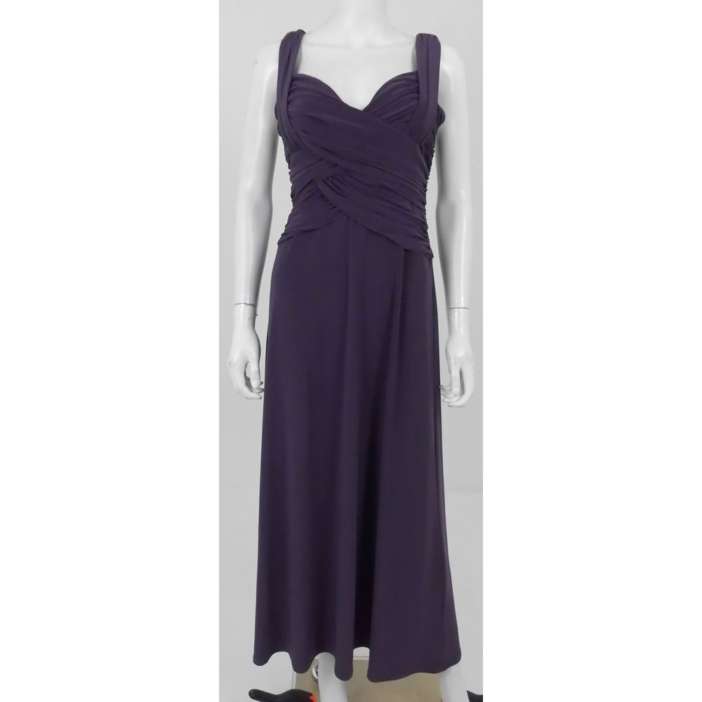 Phase Eight 12 Purple Evening Dress | Oxfam GB | Oxfam\'s Online Shop