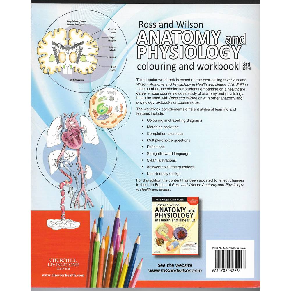 Niedlich Ross And Wilson Anatomy And Physiology Colouring And ...