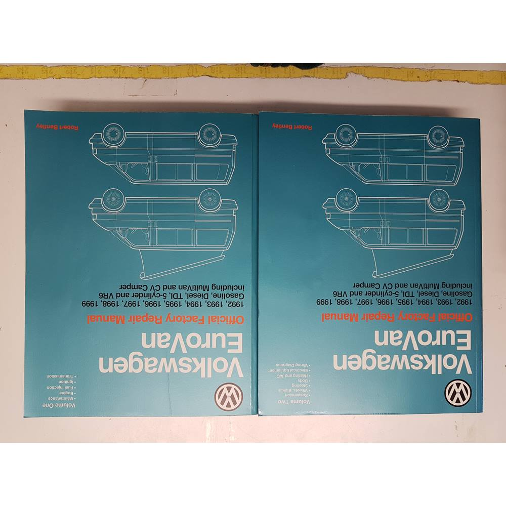 Volkswagen Eurovan Official Factory Repair Manual VOL 1 and 2. Loading zoom
