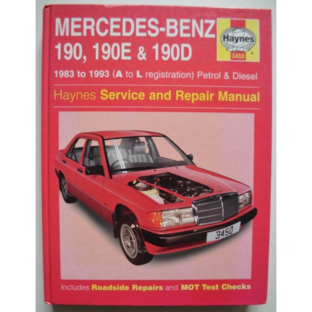 ... repair manual. Haynes - Mercedes-Benz 190, 190E & 190D (83-93) service.  Loading zoom
