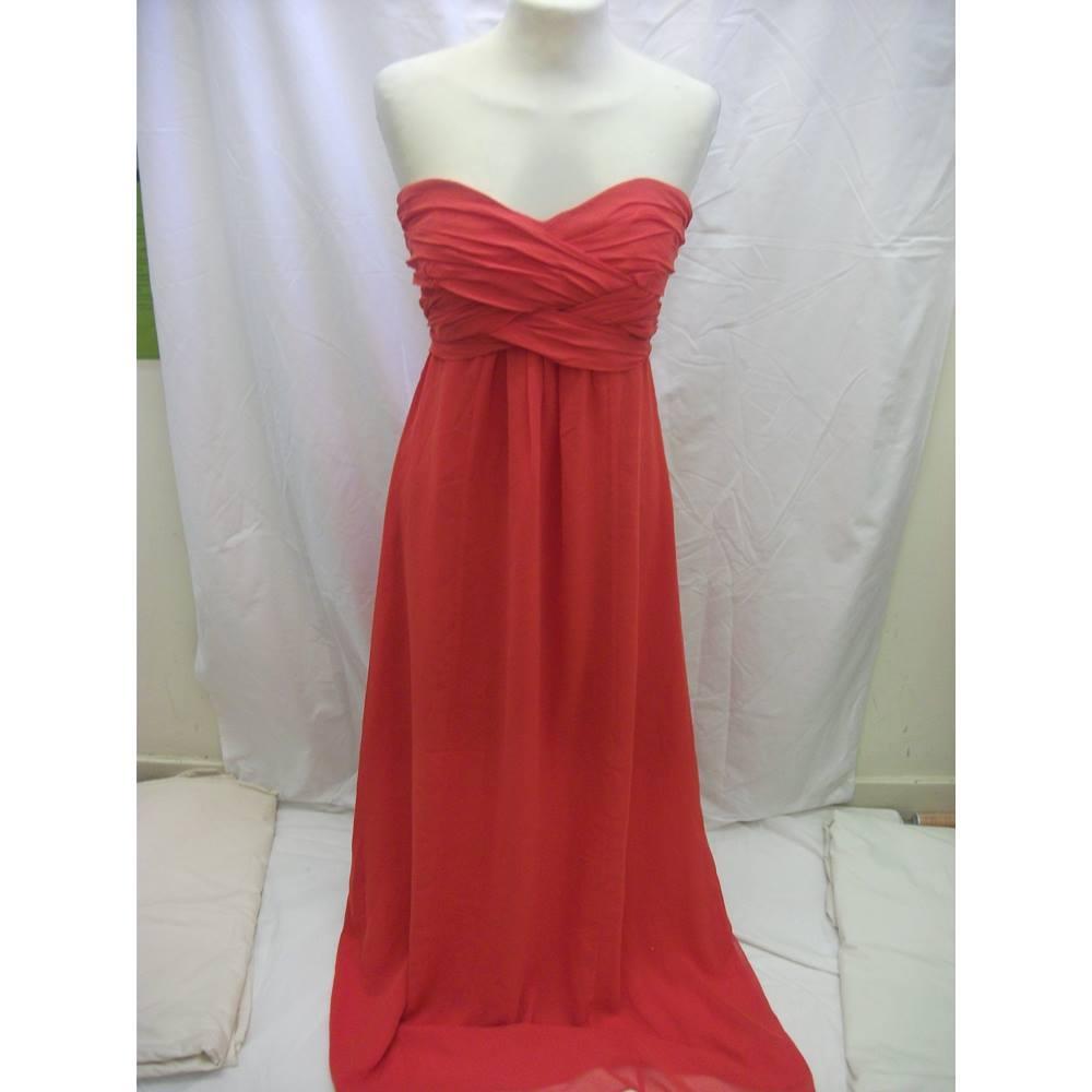 9976c98213cd NEW Ted Baker Dress- Size: 12 - Orange | Oxfam GB | Oxfam's Online Shop