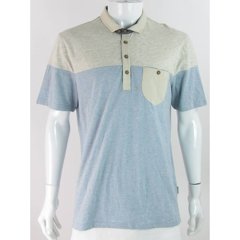 e54294dae71e Ted Baker - Size  40 M - Blue - Polo shirt. Loading zoom. Rollover to zoom