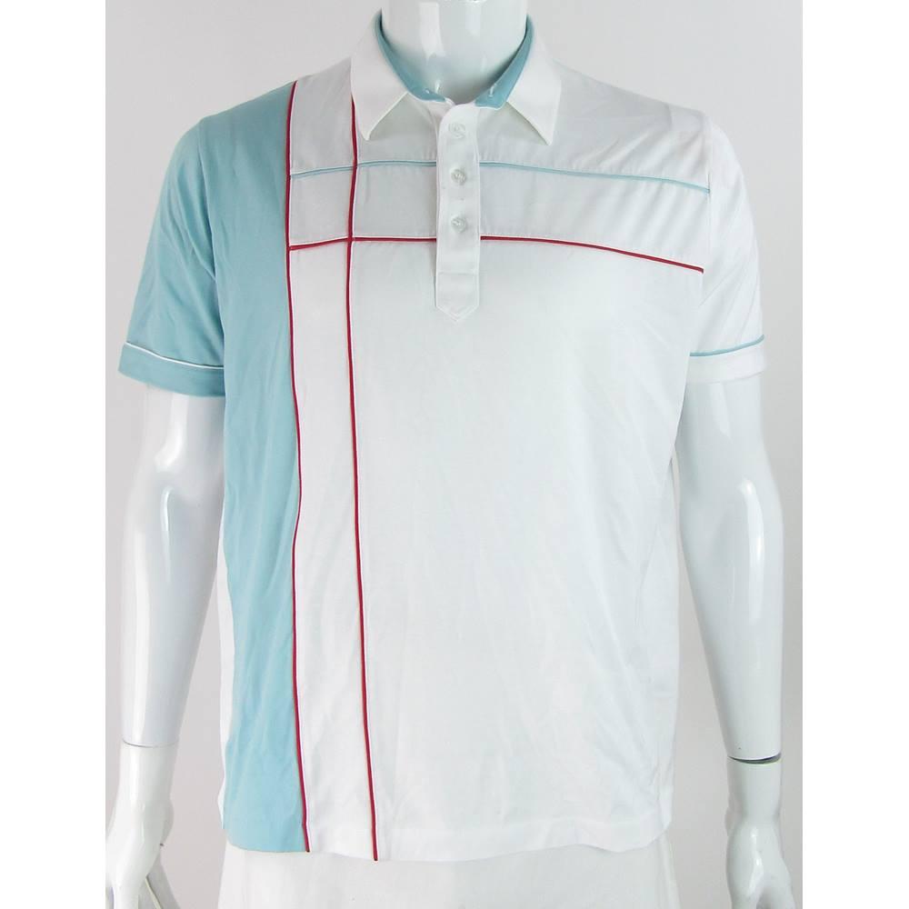 85c3377fc St Michael - Size: 43 L - White - Polo shirt | Oxfam GB | Oxfam's Online ...