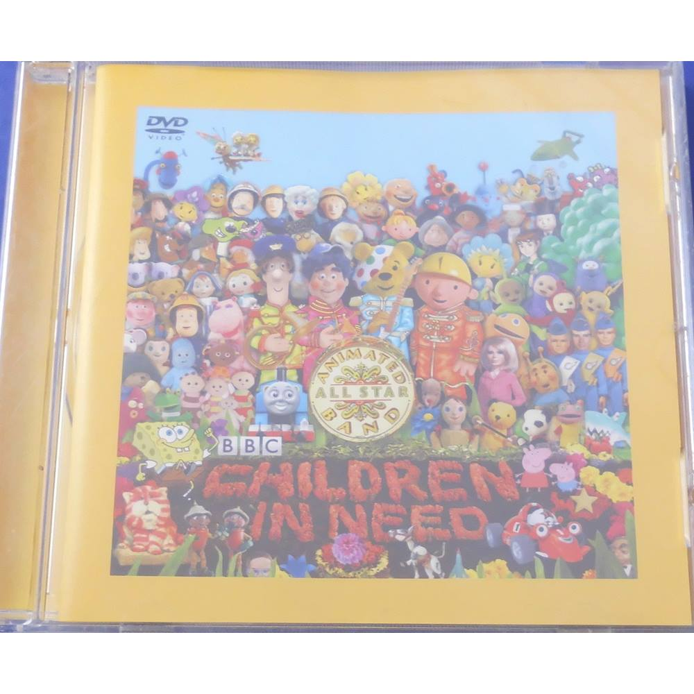 54733326b0210d The Official BBC Children In Need Medley - Peter Kay s Animated All Star  Band. Loading zoom