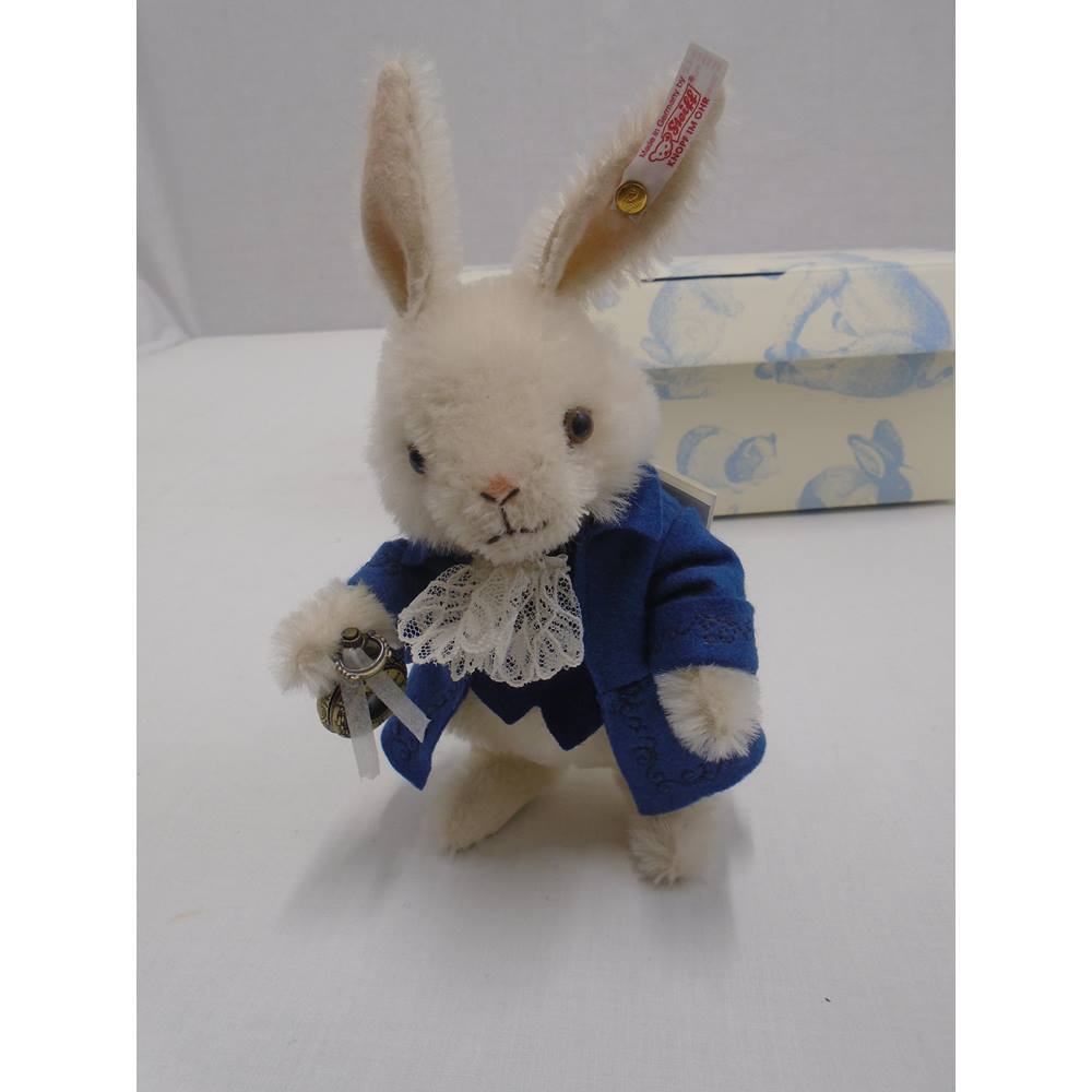 16c5d20e9350fb Steiff Vincent The White Rabbit Limited Edition - Collectable Bear - In Box  Steiff