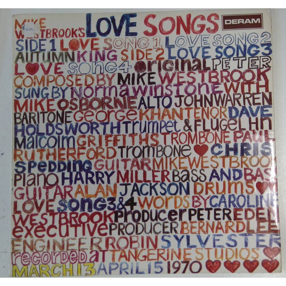 Mike Westbrook's Love Songs - The Mike Westbrook Concert Band - SML 1069 |  Oxfam GB | Oxfam's Online Shop