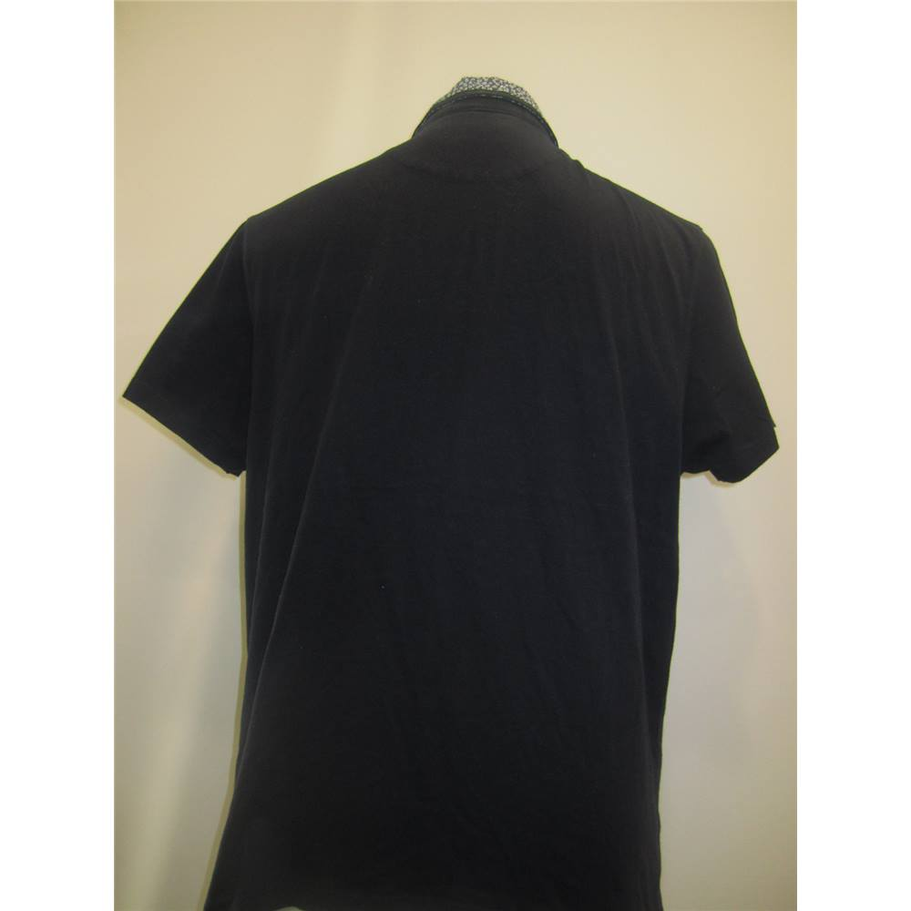 7068cc6083c7e Ted Baker Size XL (TB size 4) Men's Navy Polo Shirt. Loading zoom. Rollover  to zoom
