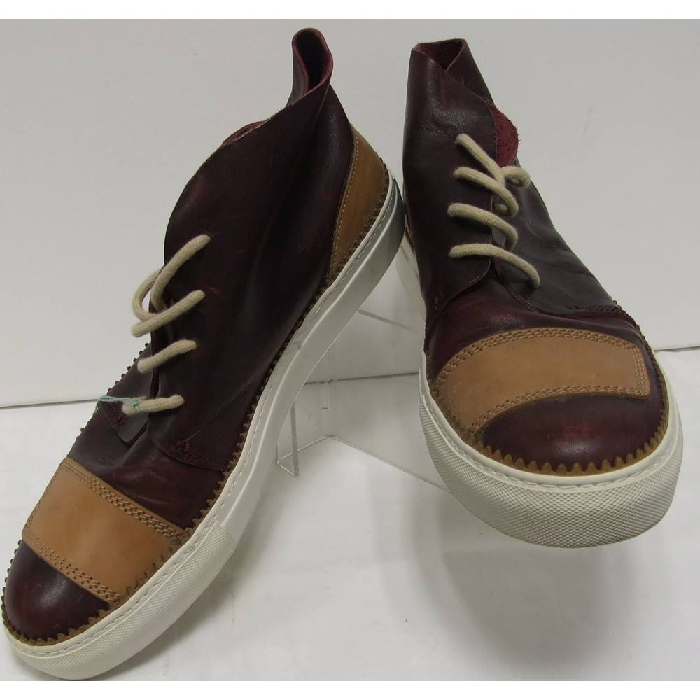 c0a0ba8d771 Genuine Oliver Sweeney men's leather ankle boots size 12 Oliver Sweeney -  Burgundy - Chelsea / ankle boots | Oxfam GB | Oxfam's Online Shop