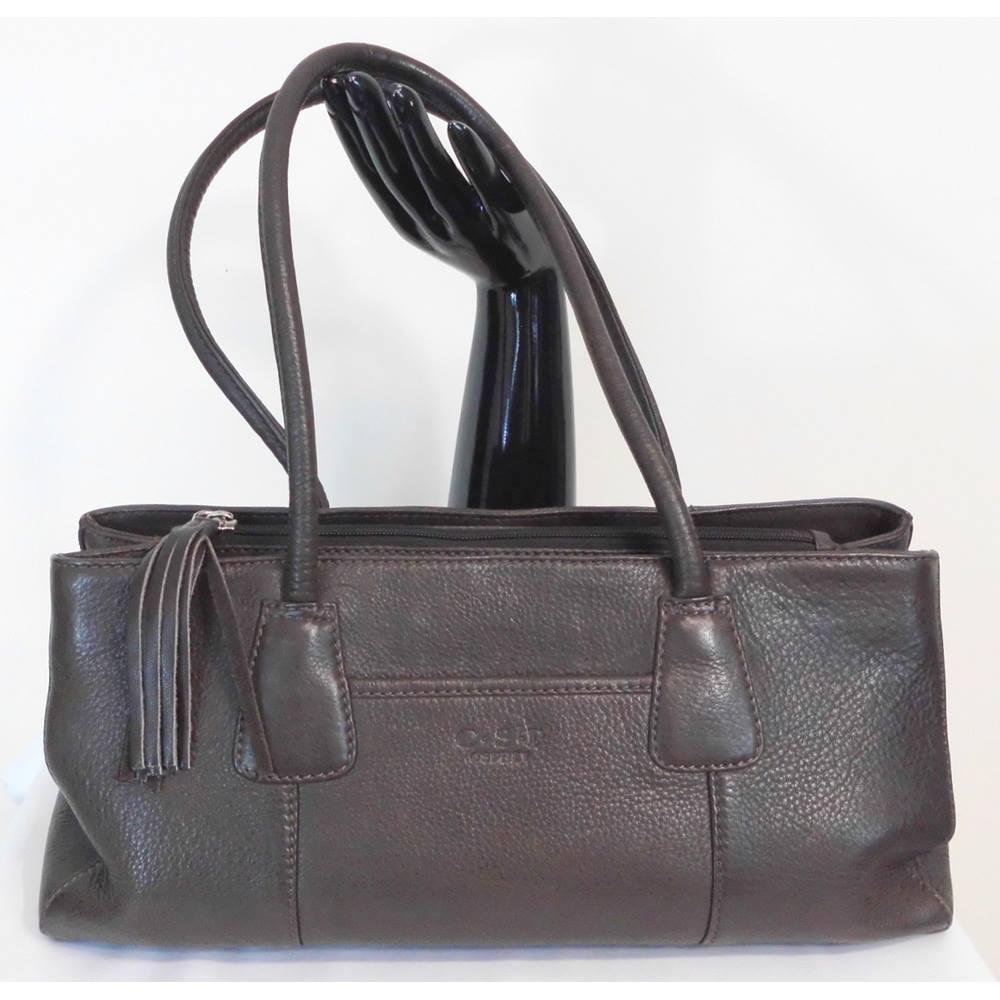 Gorgeous Osprey O S P Brown Handbag 14 X 7 Loading Zoom
