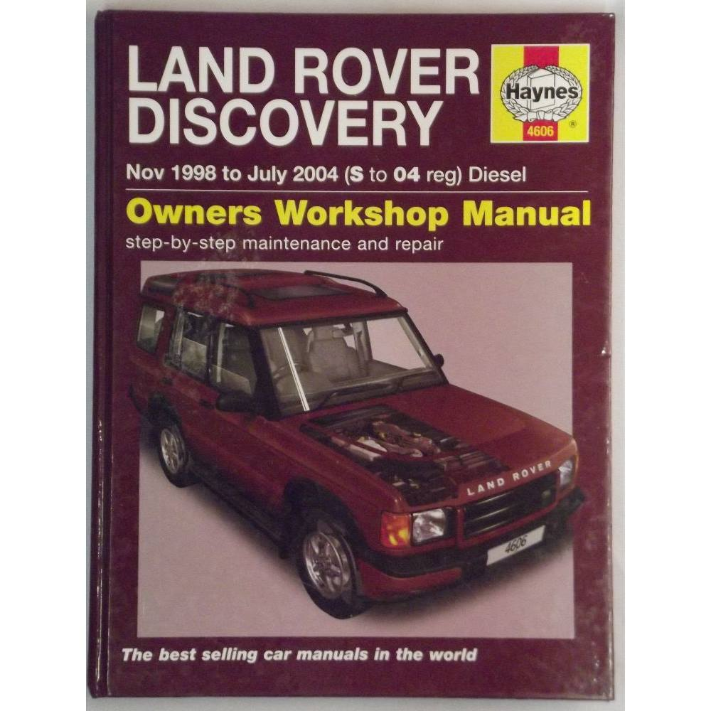 Land Rover Discovery Diesel Service and Repair Manual: 1998 to 2004  (Haynes). Loading zoom